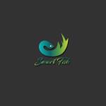 Smart Fish logo template