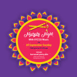 navratri pass template