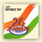 republic day vector download