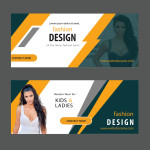Fashion website banners