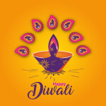 Diwali festival vector download