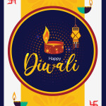 Happy Diwali vector download