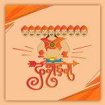 happy dussehra vector download