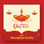 Free Diwali greetings vector