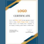 free certificate vector template